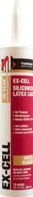 Ex-Cell Siliconized Latex White Caulk