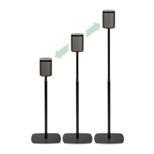 FLEXSON Adjustable Floorstand for Sonos PLAY:1 # FLXP1AS1021. Free Shipping