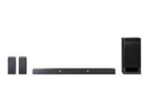 Sony HT-RT3 - Sound bar system - for home theater - 5.1-channel - wireless - NFC, Bluetooth - 600 Watt (total)