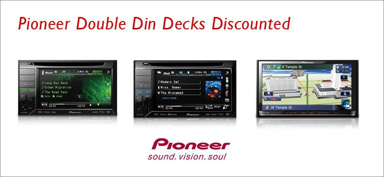 Pioneer Double Din Decks