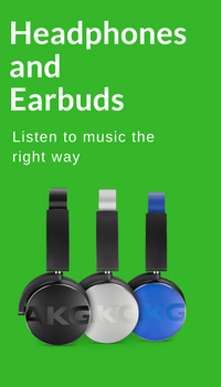Headphones and Earbuds