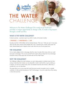Water Challenge Complete Kit