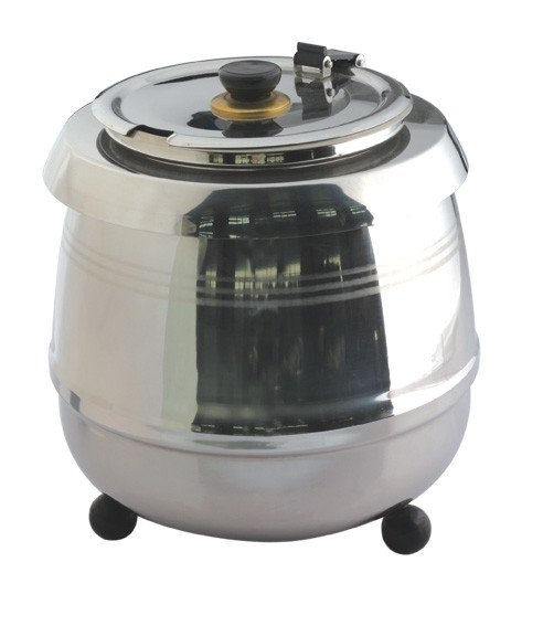 Pro Restaurant Equipment Soup Kettle - Stainless Steel Front