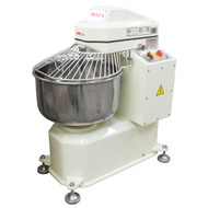 American Eagle AE-1220 40Qt Spiral Mixer, Capacity 26Lbs Flour, 44Lbs Dough, 1.5HP Agitator, 1/3HP Bowl, 220V/3Ph/60Hz Closed