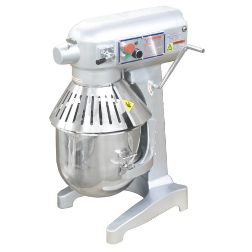 American Eagle AE-200A 20Qt Planetary Mixer with Safety Guard, 1 HP, 3 speeds, 115V/1Ph/60hz, Front View