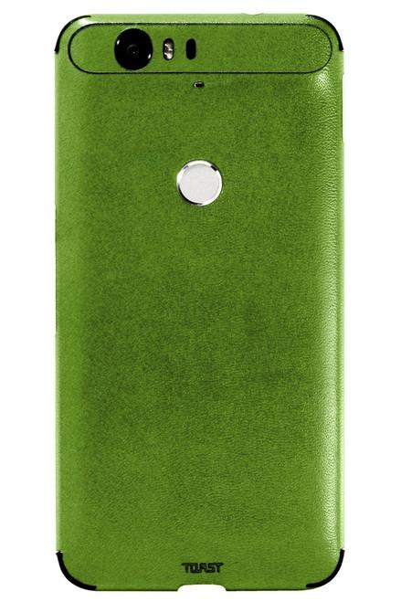 Nexus 6P Leather Mojito back panel