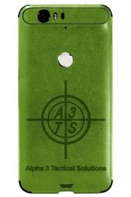 Custom Leather Phone Wrap Mojito
