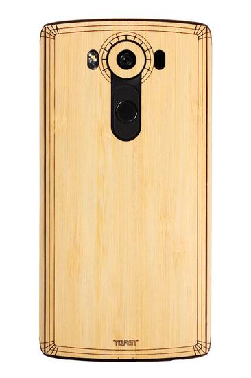 LG V10 (LGV10) Bamboo back panel