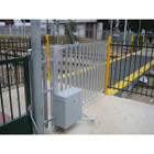 Railroad Gate, Motorized for Pedestrian Passage