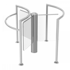 Glass Turnstile, Lobby Elegance