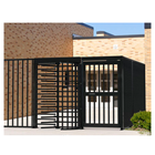 "Full Height Gate, Electric, 48"" Powder Coated"