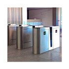 Optical Turnstiles, Retracting Tall Panels