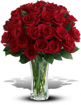 Love and Devotion - 3 Dozen Red Roses