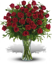 Breathtaking Beauty - 3 Dozen Red Roses