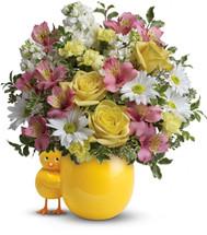 Sweet Peep Bouquet - Baby Pink