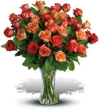 Sunrise Splendor 3 Dozen Roses Bouquet