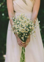 Feverfew Country Flower Bouquet