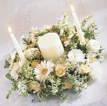 Unity Candle Tablescape