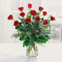 * BEST SELLER * Delux Dozen Red Roses
