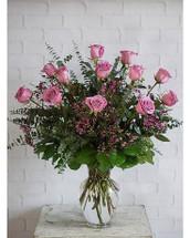 *BEST SELLER* Delux Dozen Lavender Roses