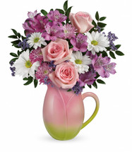 ** SPECIAL ** Chappell's  $44.99  Spring Tulip Pitcher  $54.99  (Available Locally Only)