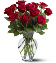 Mother's Day Dozen Red Roses   (C4)