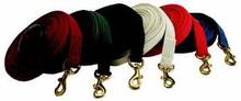 Lunge Line Cotton Web Brass Snap