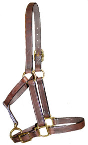 Halter Turnout Adjustable Chin Yearling