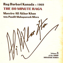 CD Ali Akbar Khan - The 80 Minute Raga (CD001)