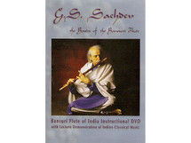 DVD - The Basics of Bansuri Flute - by G.S. Sachdev (BOOK004)
