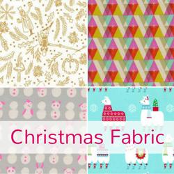 Christmas fabric at The Fabric Fox