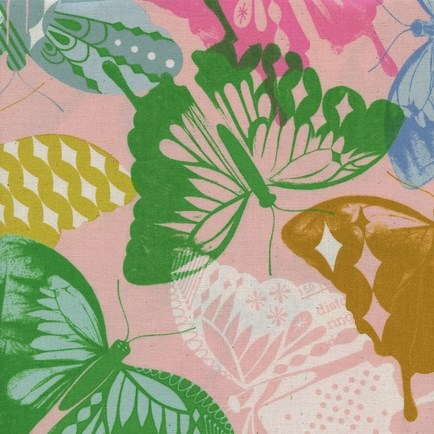 Flutter Pink from the Flutter collection by Cotton + Steel