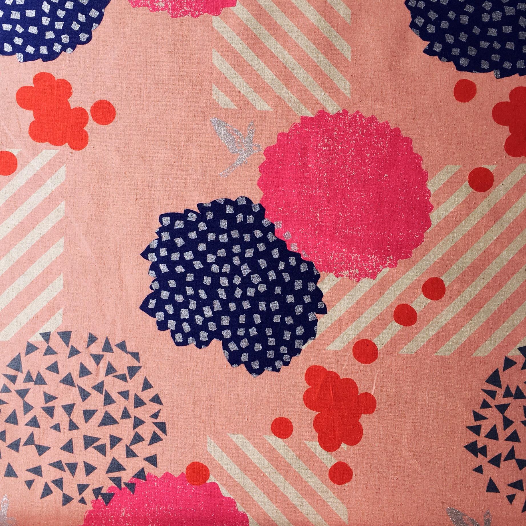 Blossom Pink - Echino - The Fabric Fox
