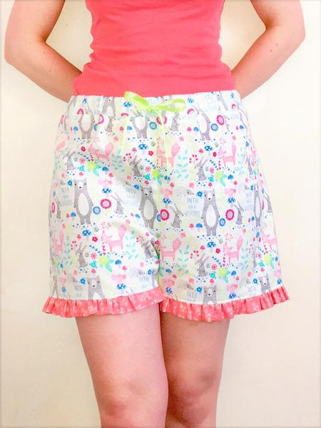 Crafty Sew And So PJ SHorts