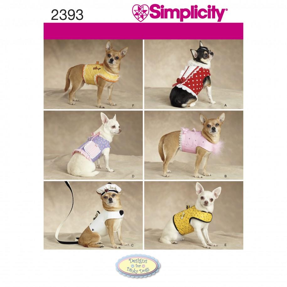 Simplicity 2393 Dog Coat Pattern