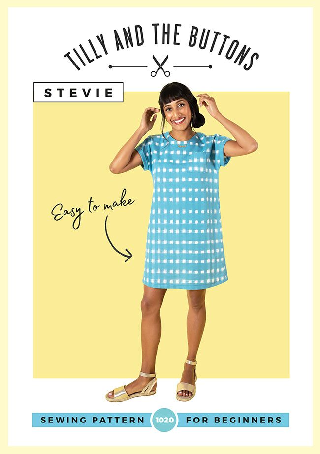 Stevie Tunic Dress and Top Pattern by Tilly and the Buttons