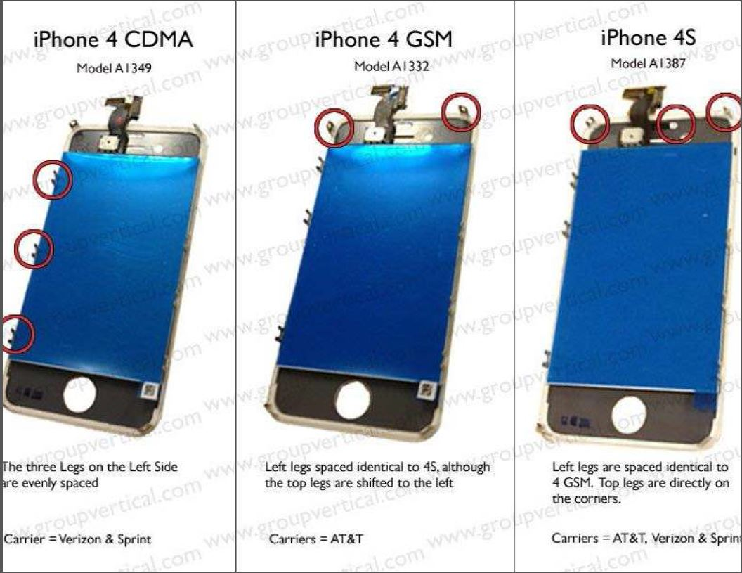 IPhone 4 What Are The Differences Between
