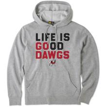 Life Is Good® Mens Georgia Go Team Hooded Sweatshirt