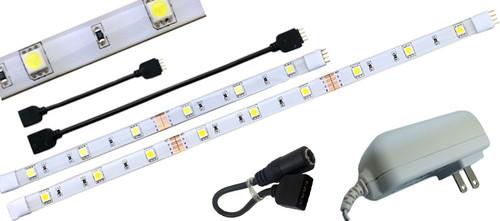 ... Custom LED Tape Light Kit For Under Cabinet Lighting