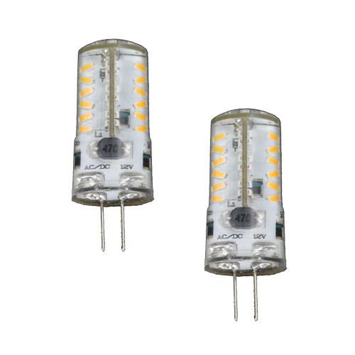 12V 3.5W WARM WHITE LED CRYSTAL JC BI PIN LIGHT BULB AQY ...
