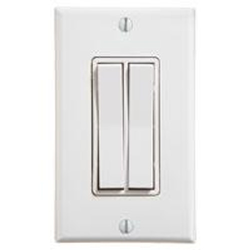 dual rocker single gang wireless light switch