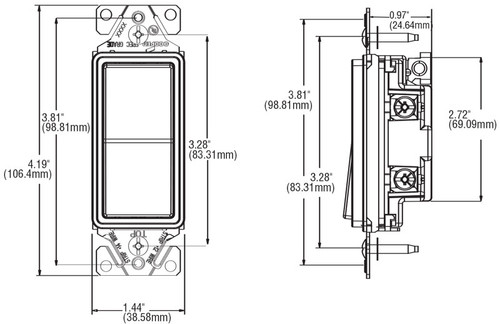 3 way decorator wall switch (7503) by cooper wiring devices Jackson Wiring Diagrams cooper wiring diagram wall pack