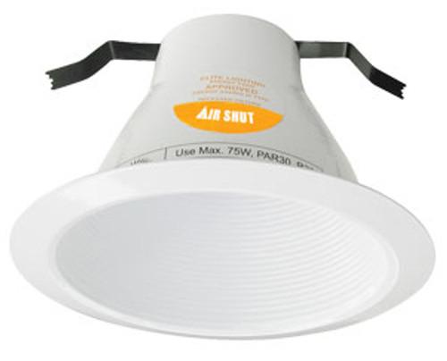 120v 6  AirShut Baffle Recessed Lighting Trim White  sc 1 st  Affordable Quality Lighting & 120v 6