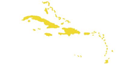 carib map