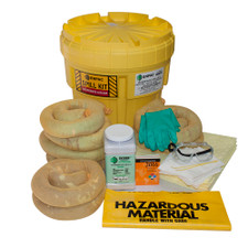 20 Gallon Overpack Salvage Drum Spill Kit - Aggressive