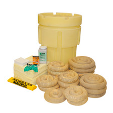 65 Gallon Overpack Salvage Drum Spill Kit - Aggressive