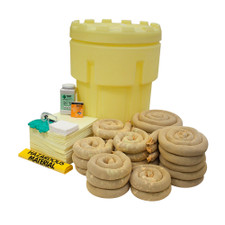 95 Gallon Overpack Salvage Drum Spill Kit - Aggressive