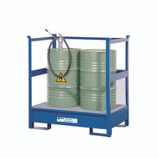2 Drum Steel Stacker Spill Pallet