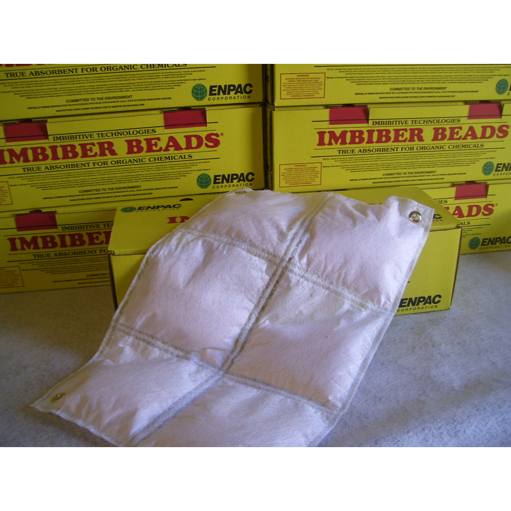 Imbiber Beads 174 Pillows Spill Containment Products