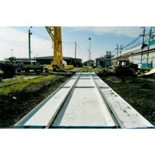 Railcar Track Pan - Full System